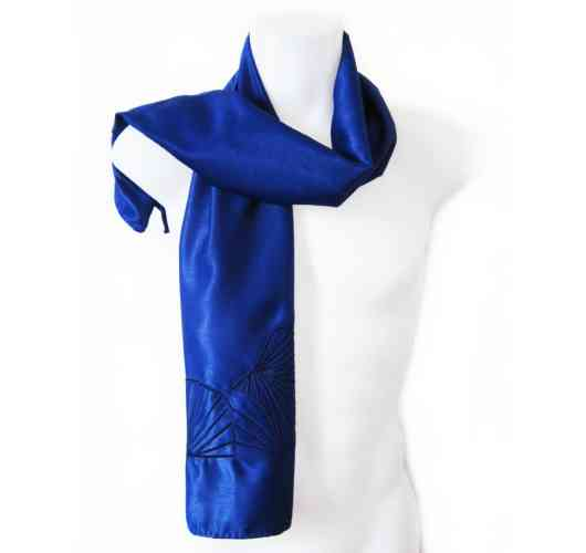 KFarah Man || Scarf Féventail 1 - Scarf 100% handmade and silk.