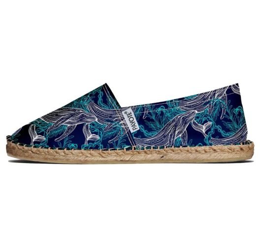 Espadrille from Pays Basque - Espadrille made in France (Pays Basque) with recycled plastic