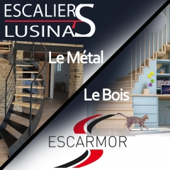 Escaliers Lusina'S - Escarmor -