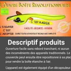 L'ouvre boite révolutionnaire -