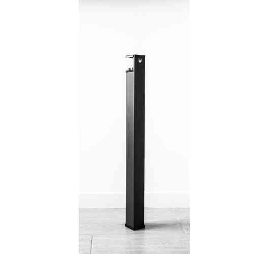 Feet Uzy 750 - 750 mm high table leg, adaptable of 30 mm thickness or more to create a table, a desk ...