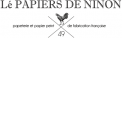 Lé PAPIERS DE NINON - VERY GOOD BOX