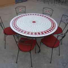 TABLE MOSAIQUE -