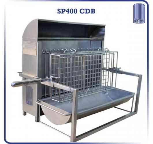 SP400CDB - vertical barbecue 400 mm