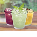 Pisco Chilcanos - It is a refreshing drink, where Lemon juice, Ginger Ale and Pisco (Peruvian Brandy) mix all together in harmony. You can also order in other flavours: Mango, Passion fruit, blueberry and Coffee.