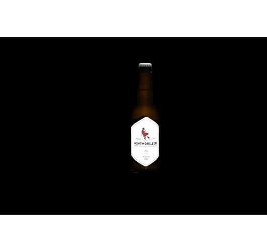 IPA - This Imperial India Pale Ale is made from a powerful blend of malt. A nice intense beer with fruity and floral notes which is concretized by a subtle bitterness at the end of the mouth. A perfect balance to make your taste buds travel.