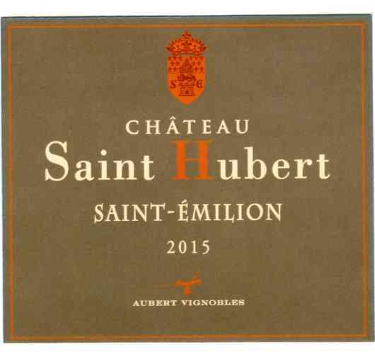 CHATEAU SAINT HUBERT 2015