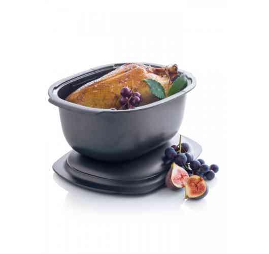 Pour une cuisson saine et sans surveillance au four traditionnel ou au micro-ondes. - Pour une cuisson saine et sans surveillance au four traditionnel ou au micro-ondes.