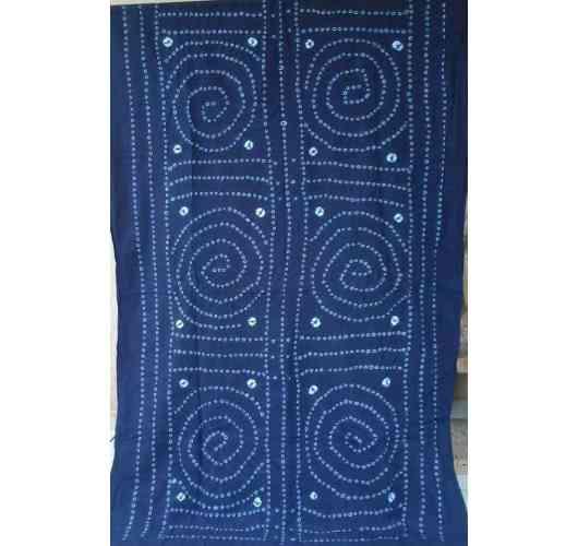 soft coton indigo plaid - indigo coton
