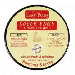 Edge color black - The Edge products in our range are designed for styling and securing small sections of hair, hairlines and locks. Its strong adhesive guarantees your hairstyle is kept in place for longer. It contains elements to reduce hair loss and encourage rapid hair regrowth. Suitable for all types of hair.
