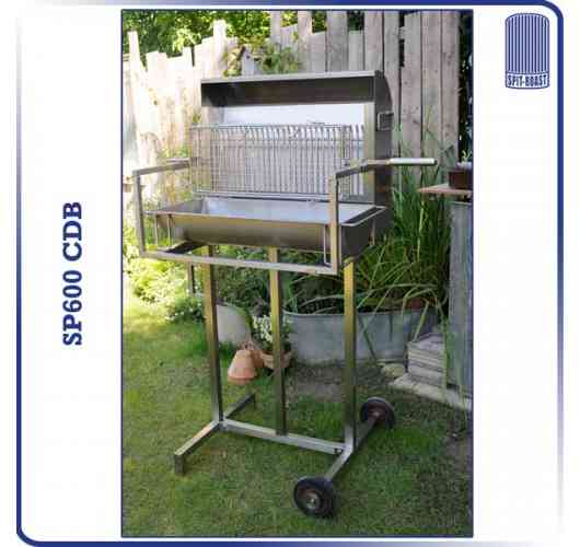 SP600CDB - vertical barbecue 600mm