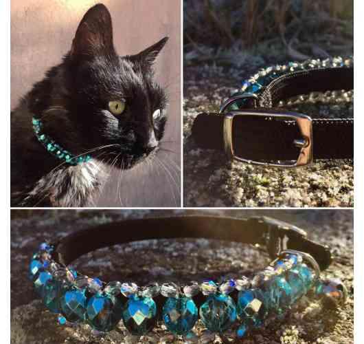 KFarah Kitty || Guetta - Kitty Necklace 100% handmade in glass pearls.