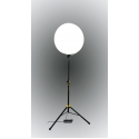 Ballon Eclairant LED  - <p><strong>ORIZEO</strong>has designed and produces in France<strong>a lighting balloon in LED</strong>technology, with low power consumption, 200 watts,but with a very high lighting efficiency up to 450 m2. Ready in less than 5 minutes, it is very easy to put in place and will be essentail during your summer evenings with friends, barbecue, weddings, ...</p> <p>With its attractive price,<strong>ORIZEO</strong>wants to revolutionize outdoor lighting for terraces, gardens, ...</p> <p>We are waiting for you on our stand to check it by yourself.</p>