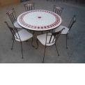 TABLE MOSAIQUE - FURNISHING - DECORATION