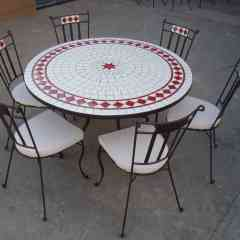 TABLE MOSAIQUE - FURNISHING - DECORATION