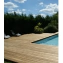grad decking  - <p>What is a grad decking?</p> <p>It's an elegantdeck with no visible fastening, but with perfect alignment, high quality material and up to a 50 year warranty! The whole is assembled with a patented andunique technical solution.</p> <p>Thedeck has become the 5th living area in a house: a place to feel good, share fun times together or relax. Whether you opt for hardwood or softwood, the wear on the boards is the same.</p> <p>graddecking are mounted on ourTrack system, the structure of yourdeck is rot-resistant and permanent, perfectly complementing our high-quality wood types. Yourdeck will be a place where you can enjoy good times!</p>