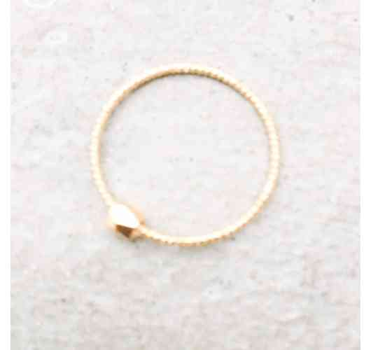 FACETTES Ring - Gold plated Ring