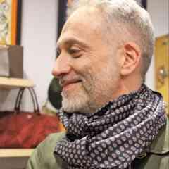 Silk scarf Made in Paris - Silk scarf made in Paris
