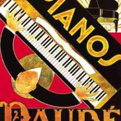 PIANOS DAUDE - FURNISHING - DECORATION