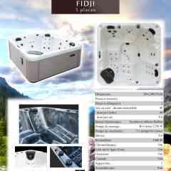 hot tub Fidi Vendom - hot tub 5 places including 2 lying