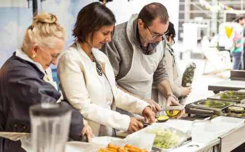 atelier cuisine sur Foire de Paris